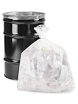 Contractor's Bag - 30 Gallon, 6 Mil, Clear S-22477C