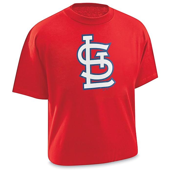 MLB T-Shirt - St. Louis Cardinals, 2XL S-22555STL2X