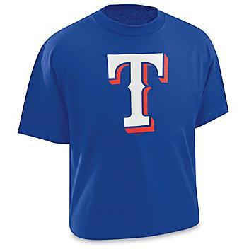 MLB T-Shirt - Texas Rangers, Medium S-22555TEX-M