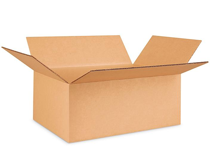 """20 x 14 x 8"""" 275 lb Double Wall Corrugated Boxes S-22582"""