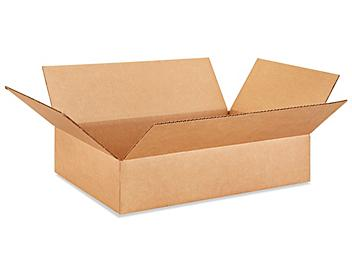 """18 x 12 x 4"""" Lightweight 32 ECT Corrugated Boxes S-22585"""