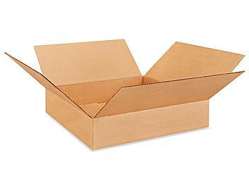 """20 x 20 x 4"""" Lightweight 32 ECT Corrugated Boxes S-22588"""