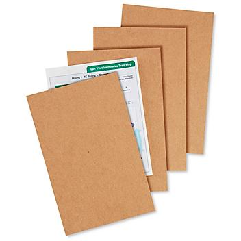 """5 1/2 x 8 1/2"""" Chipboard Pads - .022"""" thick S-22608"""
