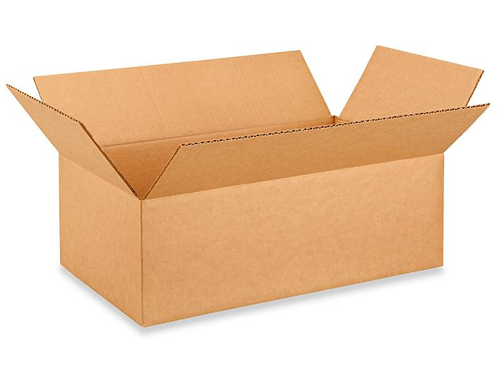 """18 x 10 x 6"""" Lightweight 32 ECT Corrugated Boxes S-22640"""