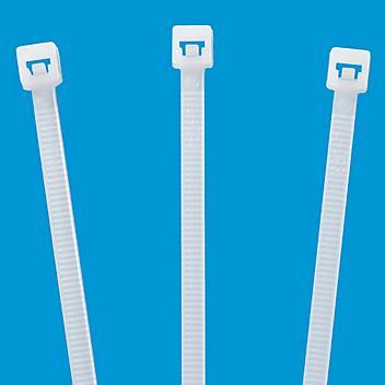 "Nylon Natural Cable Ties - 12"", 40 lb S-22710"