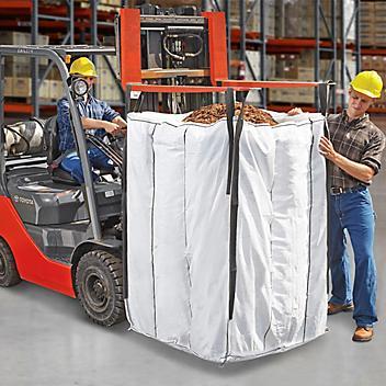 "Bulk Bags Skid Lot - Duffle Top, Plain Bottom, 42 x 42 x 55"" S-22714S"