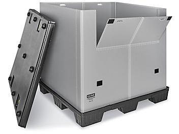 "Reusable Bulk Container - Plastic, 48 x 40 x 45"" S-22721"