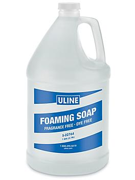 Uline Fragrance and Dye Free Foaming Soap - 1 Gallon S-22764