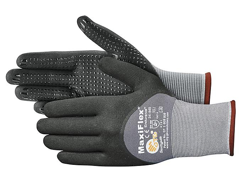 MaxiFlex® 34-845 Micro-Foam Nitrile Coated Gloves - Large S-22777-L