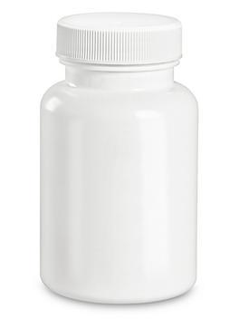 White Packer Bottles - 4 oz S-22897