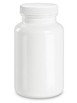 White Packer Bottles - 8 oz S-22898