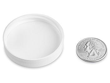 Polypropylene Caps - 45/400, White S-22902