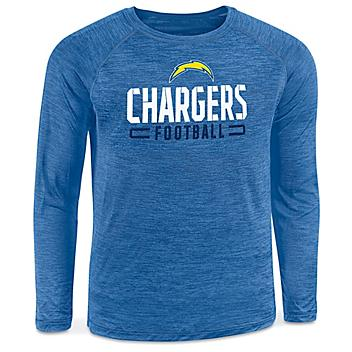 NFL Long Sleeve Shirt - Los Angeles Chargers, 2XL S-22904LAC2X