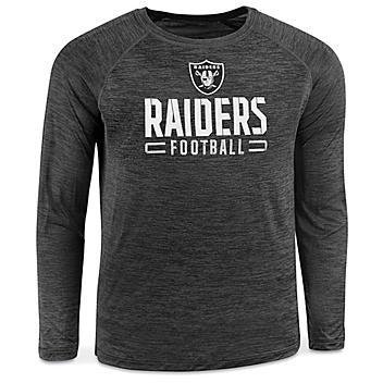 NFL Long Sleeve Shirt - Las Vegas Raiders, Medium S-22904RAI-M