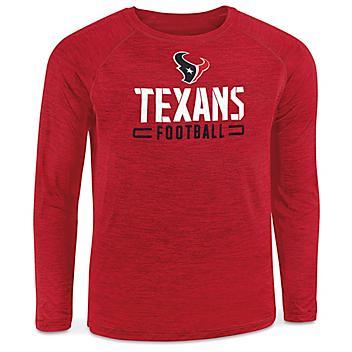 NFL Long Sleeve Shirt - Houston Texans, Medium S-22904TEX-M
