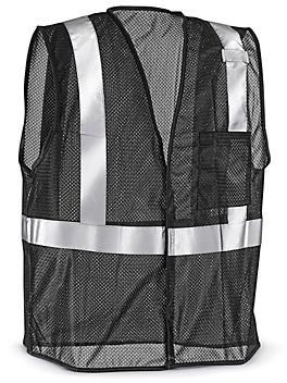 Black Hi-Vis Safety Vest - S/M S-22907-S