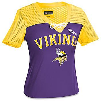 NFL Women's T-Shirt - Minnesota Vikings, XL S-22915MIN-X