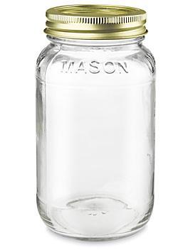 Standard Glass Canning Jars - 24 oz S-22933