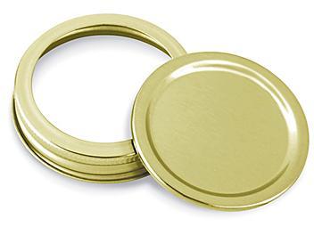 Standard Canning Jar Lids with Bands - Regular Mouth S-22936