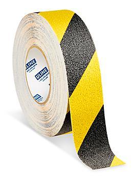 "Heavy Duty Anti-Slip Tape - 2"" x 60', Yellow/Black S-23013"