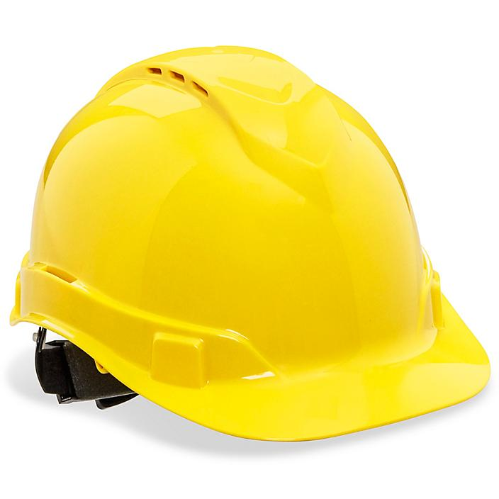 Vented Hard Hat - Yellow S-23045Y