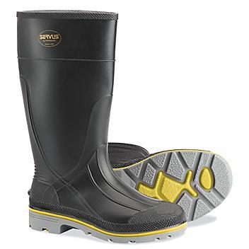 Steel Toe PVC Work Boots - Men's 9 S-23052-9