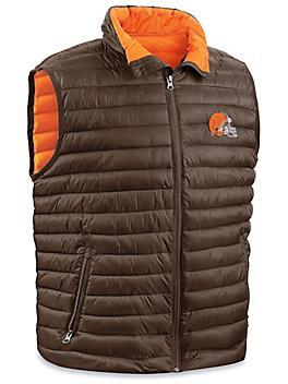 NFL Vest - Cleveland Browns, Large S-23078CLE-L