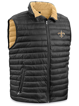 NFL Vest - New Orleans Saints, Large S-23078NOS-L