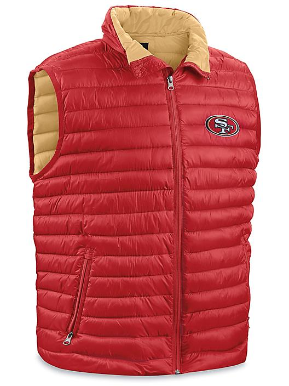 NFL Vest - San Francisco 49ers, 2XL S-23078SFF2X