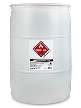 70% Isopropyl Alcohol - 55 Gallon Drum S-23080