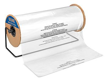 """Suffocation Warning Bags on a Roll - 1.5 Mil, 24 x 36"""" S-23116"""