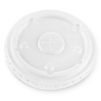 Uline Signature Paper Cup Lid - 12-16 oz S-23128