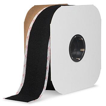 "Velcro® Brand Tape Strips - Loop, Black, 3"" x 75' S-23142"
