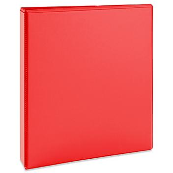 """Avery 3-Ring Heavy Duty View Binder - 1 1/2"""", Red S-23166R"""