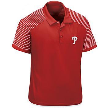 MLB Polo Shirt - Philadelphia Phillies, 2XL S-23252PHI2X