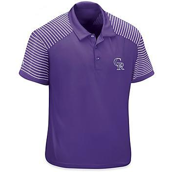 MLB Polo Shirt - Colorado Rockies, XL S-23252ROC-X