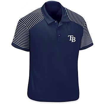 MLB Polo Shirt - Tampa Bay Rays, 2XL S-23252TAM2X