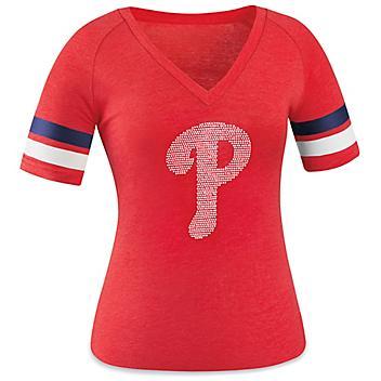 Ladies' MLB T-Shirt - Philadelphia Phillies, Large S-23253PHI-L