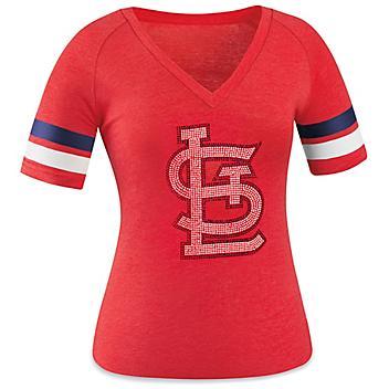 Ladies' MLB T-Shirt - St. Louis Cardinals, Medium S-23253STL-M