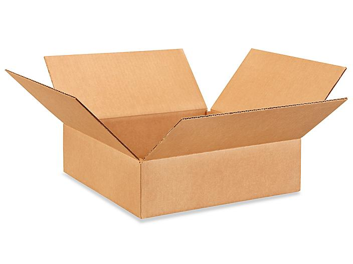 """14 x 14 x 4"""" Lightweight 32 ECT Corrugated Boxes S-23306"""