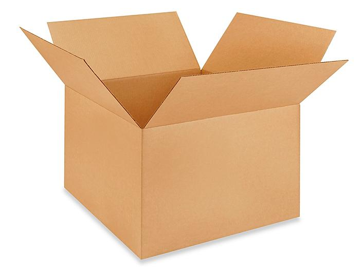 """24 x 24 x 16"""" Lightweight 32 ECT Corrugated Boxes S-23331"""