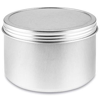Screw-Top Metal Tins - 14 oz, Deep S-23422
