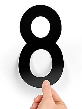 """8"""" Single Number Die-Cut Labels - """"8"""" S-23448-8"""