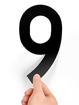 """8"""" Single Number Die-Cut Labels - """"9"""" S-23448-9"""