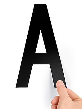 """8"""" Single Letter Die-Cut Labels - """"A"""" S-23449-A"""