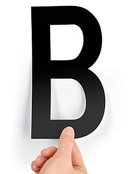 "8"" Single Letter Die-Cut Labels - ""B"" S-23449-B"