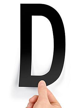 """8"""" Single Letter Die-Cut Labels - """"D"""" S-23449-D"""