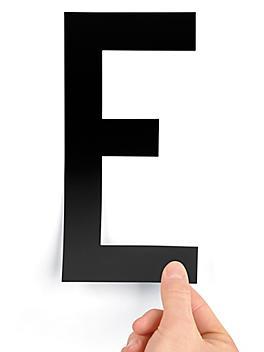 """8"""" Single Letter Die-Cut Labels - """"E"""" S-23449-E"""