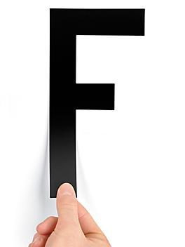 "8"" Single Letter Die-Cut Labels - ""F"" S-23449-F"