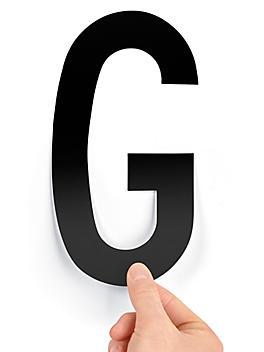 """8"""" Single Letter Die-Cut Labels - """"G"""" S-23449-G"""